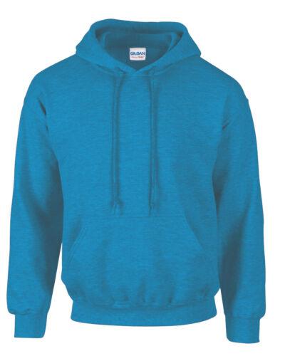 Antique Sapphire Adult Gildan Plain Hooded Heavy Blend Pullover mens hoodie