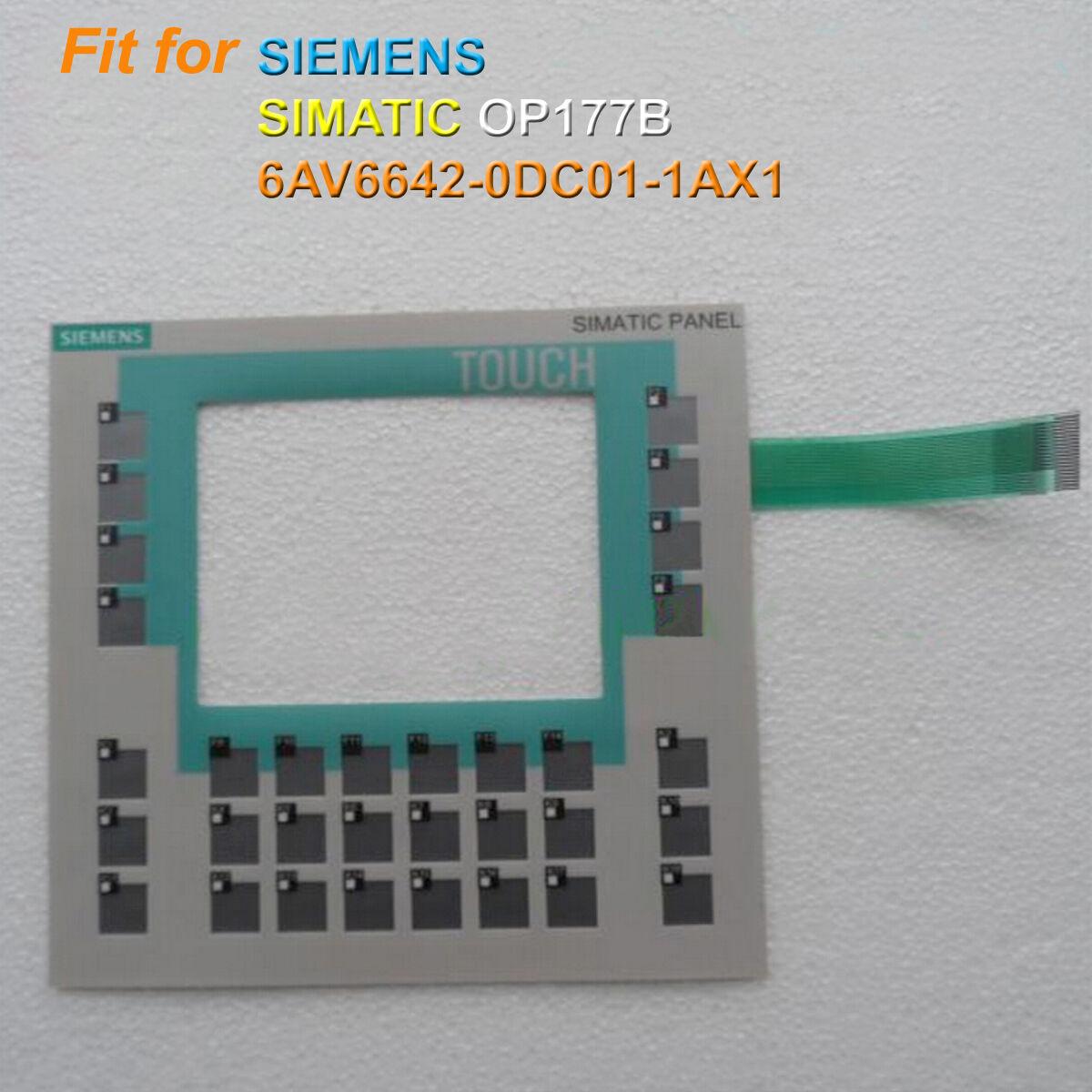For SIEMENS OP177B 6AV6642-0DC01-1AX1, 6AV6 642-0DC01-1AX1 Membrane Keypad