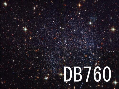 Polyester Backdrops Space Stars Photography Props Studio Background 7X5FT DB760
