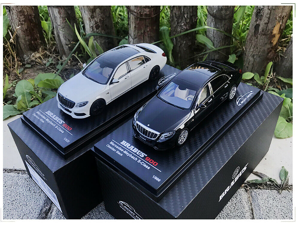 Almost Real 1   43 Mercedes-Benz Maybach S-class brabusS900 alloy car model