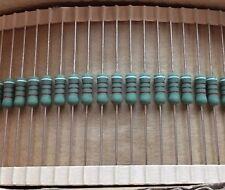 25 PCs Metal Oxide Resistor 910 OHM 2W 2% (replacement of 1W 1/2W 1/4W )