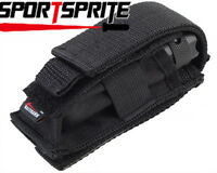 Multifunctional Adjustable Flashlight Holster Tool Pouch Knife Pouch Black
