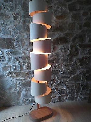 STEPP FLOOR LAMP, CONTEMPORARY, UNIQUE, HANDMADE IN CORNWALL