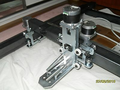 DIY RAIL CARS AND Z AXIS FOR NEMA 23 STEPPER MOTORS FOR CNC AND PLASMA CUTTER