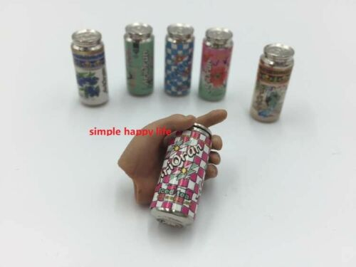 6 x 1//6 Arizona tea can Dollhouse Miniature Bar Drink Decor Hot Toys ❶USA❶