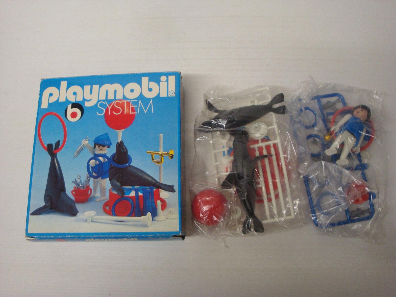 Jugarmobil Antiguo Gig Nuevo Caja Bolsa Original 2 Lobos de Mar + Trainer 3518