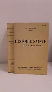 Daniel Rops - Histoire Santa - 1942 - Artheme Fayard