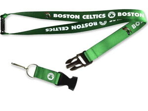 NBA Boston Celtics Two-Tone Lanyard with Detachable Buckle
