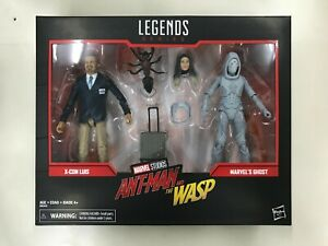 Marvel-Legends-Ant-Man-and-The-Wasp-6-034-X-Con-Luis-amp-Ghost-MISB