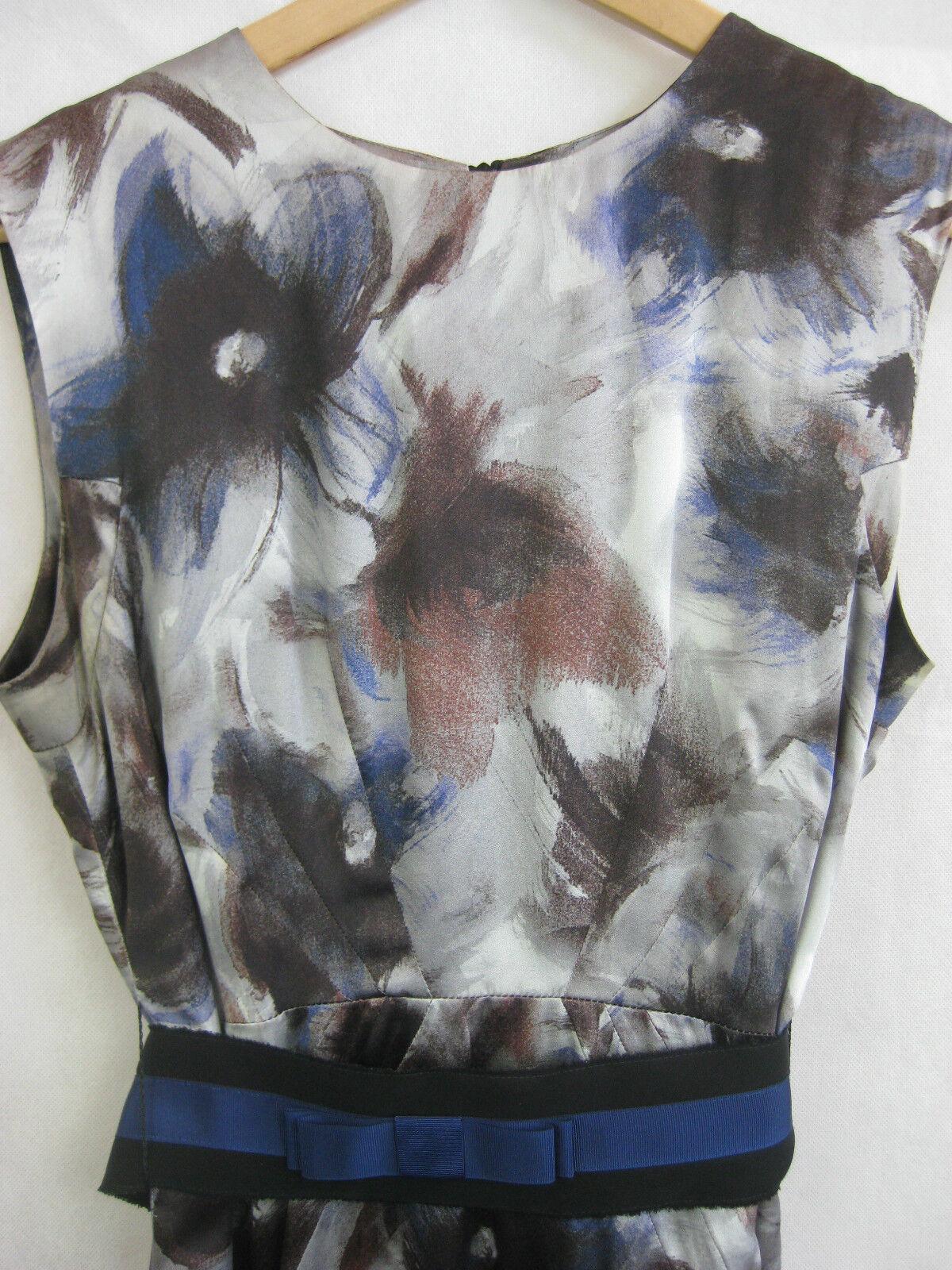 Roberto Verino Size US 8 Multi-coloured Silk Dress
