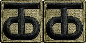 2-Pack-U-S-Army-90th-Sustainment-Command-OCP-Hook-Back-Military-Patches