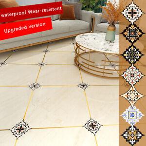 36pcs Self-adhesive Bath Kitchen Wall Stair Floor Border Tile Diagonal Sticker