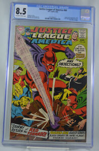 Justice-League-of-America-64-CGC-8-5-1st-SA-Appearance-Red-Tornado