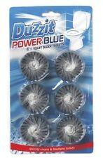 Duzzit 6 Blue Toilet Block Tablet Power Blue Water Toilet Flush Clean Freshness