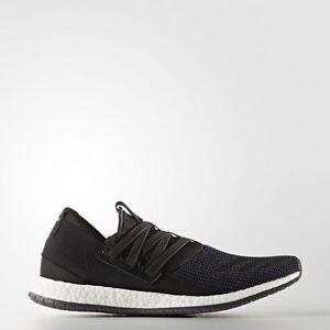 [Adidas] AQ3486 Pure Boost ZG RAW Men Women Unisex Running Shoes Black