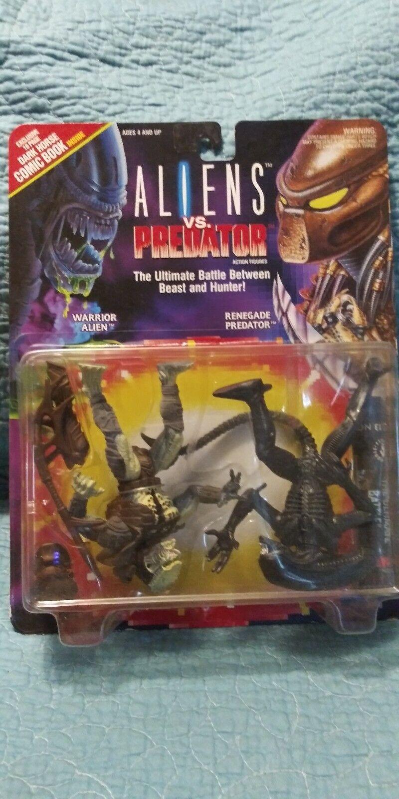 El ultimo 2018 Uno de una clase clase clase Alien vs Projoator figuras de acción renegado Deprojoador 1993 Kenner  suministro de productos de calidad