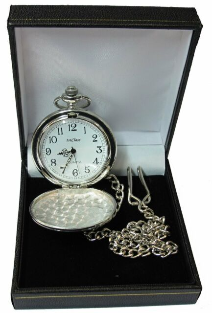 Engraved Pocket Watch Father Of The Bride Groom Best Man Ushe Dad