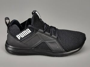 188d4150003 Puma Enzo Weave Men s Black White Athletic Sneakers 191487 01 2018 ...
