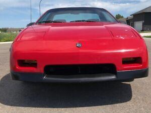 1986 Pontiac Fiero SUPER RARE FIERO SE COUPE PKG