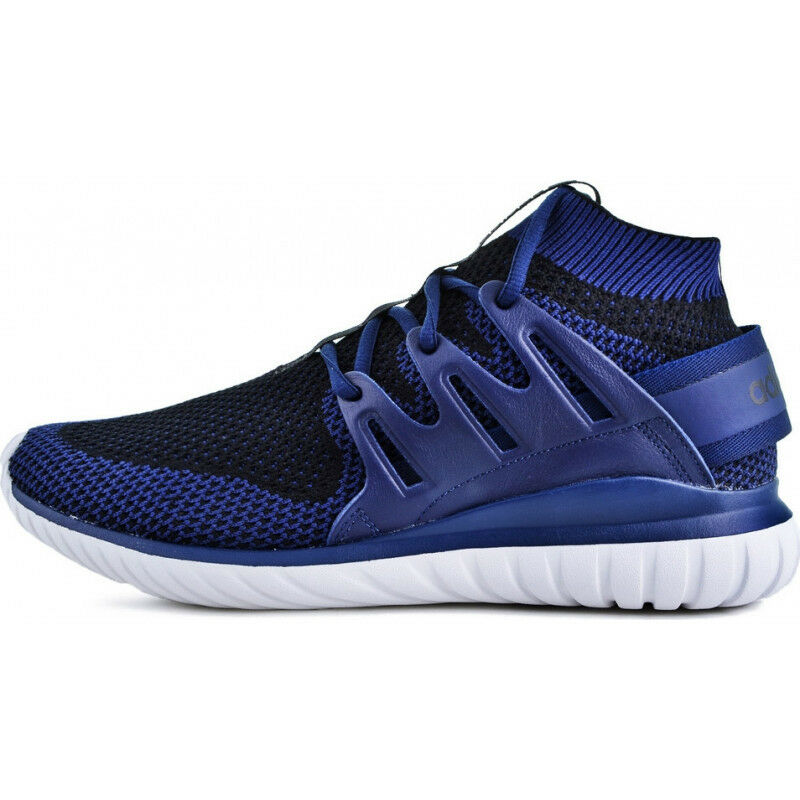 Mens Adidas Originals Tubular Nova Primeknit Mens Trainer - bluee