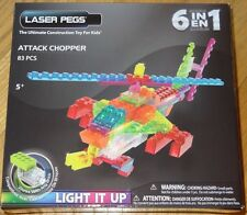 Attack Chopper Zippy Do Laser Pegs Lighted Construction Building Toy ZD150B