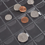 miniature 6 - Hicarer 184 Pocket Coin Pocket Page Protectors, 3 Size 6 Sheets Coin Collection