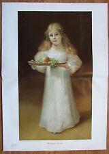 Lingner EVCHEN um 1899 antiker Druck Lithografie old print