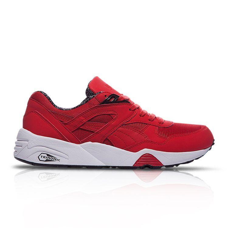 Puma Trinomic R698 LS powerwarm tailles 6-11 rouge   75 bnib-