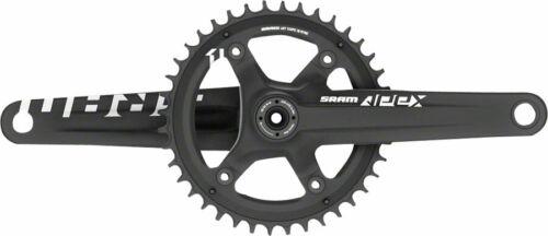 SRAM Apex 1 Crankset 165mm 10//11-Speed 42t 110 Asymmetric BCD GXP Spindle Black