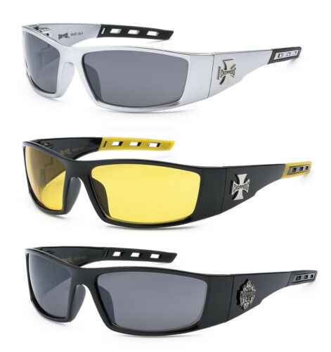 C50 3 PAIRS Choppers Sunglasses Motorcycle Riding Glasses UV400 COMBO