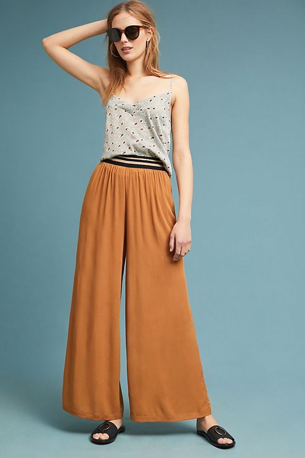 128 Anthropologie  Gauze Pull-On Pants S