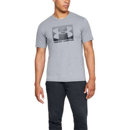NEW Under Armour Men's Athletic Boxed Sportstyle Graphic Short Sleeve T-Shirt
