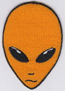 Alien-Patch-Iron-On-Alien-Head-UFO-Roswell-AREA-51