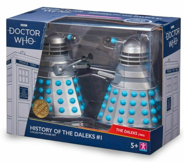 Doctor Who - History of the Daleks Twin Pack Assortment #1-CHA07206-CHARACTER...