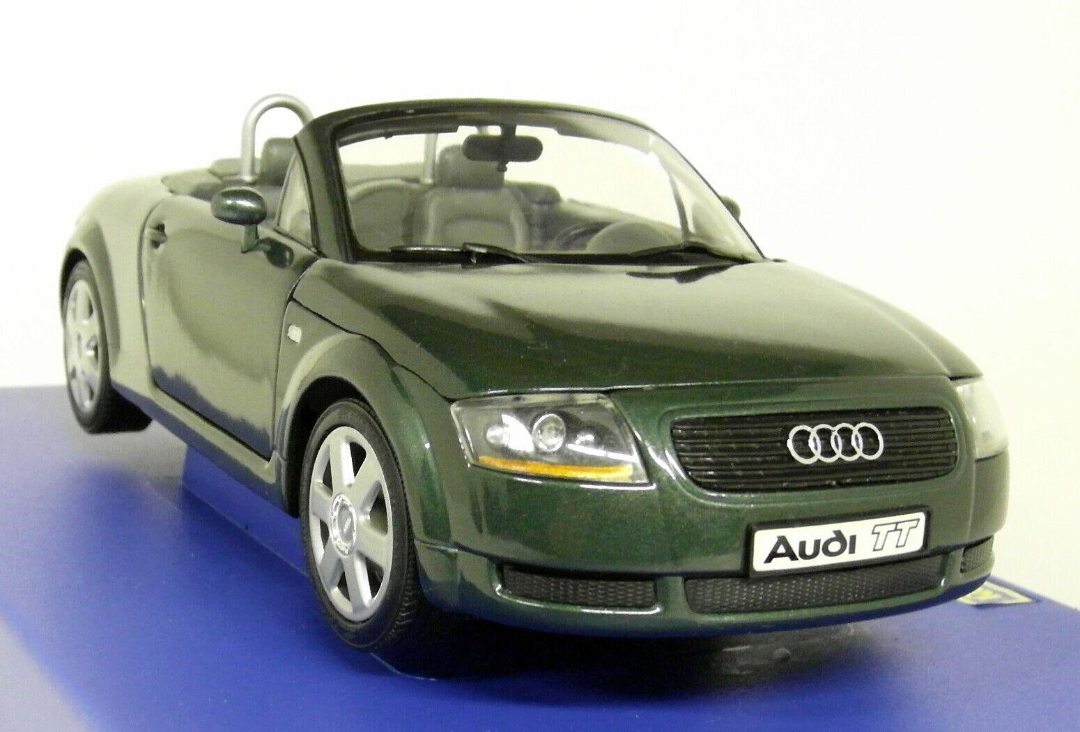 Revell 1 18 escala 08979 Audi TT Roadster verde Oscuro Mk1 8N Coche Modelo Diecast
