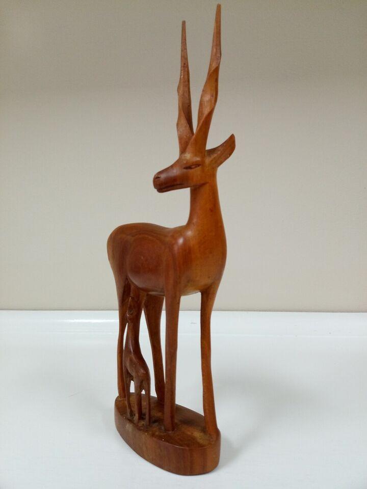 Træfigur, Besmo afrikansk kunst , 1960