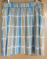 Boden Ladies Skirt Size 18 Plus Jersey Summer Casual Elise £49 Stripy