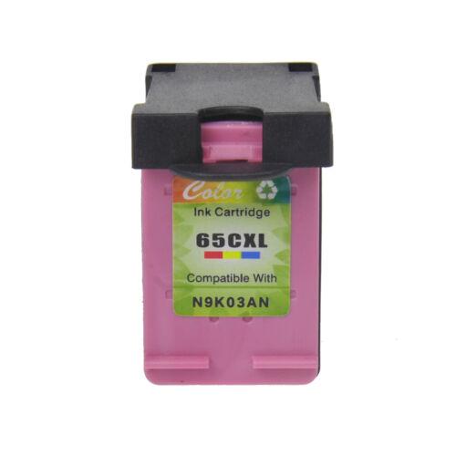 Ink Cartridge for HP 65XL Deskjet 2652 2655 3720 3722 3730 3732 3752 3755 3758
