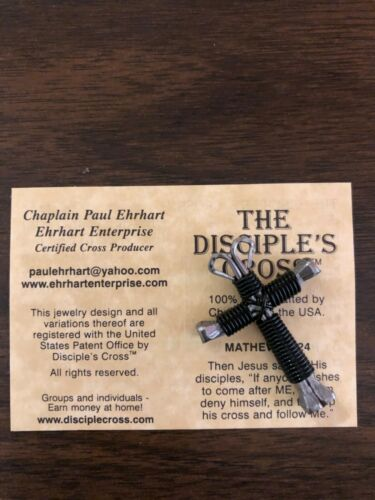 HORSESHOE NAIL DISCIPLES CROSS NECKLACES Original MADE IN USA **CERTIFIED**