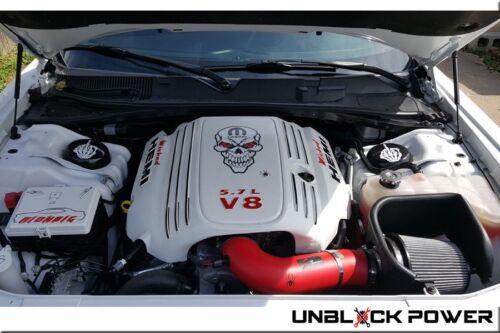 2011-2018 DODGE CHALLENGER CHARGER 5.7L 5.7 V8 AF DYNAMIC AIR INTAKE KIT RED