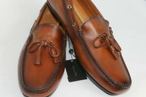 Massimo-Dutti-Loafers-Driving-Boat-Brown-EU-44-11-US-Brand-New-6304-022-709