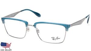 57e5b48b0e NEW Ray Ban RB6397 2934 BLUE EYEGLASSES GLASSES FRAME RB 6397 52-19 ...