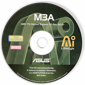 Asus M3A AI Nap Drivers for Windows