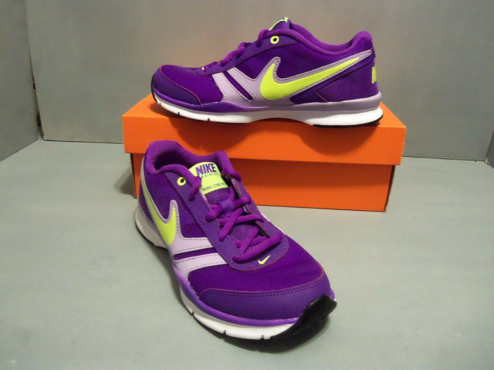 reputable site 9b19f 524b7 NIKE Women s Purple Total Core TR 2 2 2 Trainer Running Shoes. New In Box