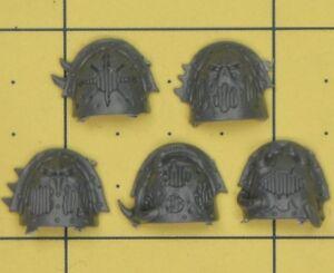 Warhammer 40k Chaos Space Marines Raptor/warp Talon épaulettes (a)-afficher Le Titre D'origine Chaud Et Coupe-Vent