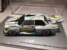 BMW 320i Roy Lichtenstein Diecast Art Car 1:18
