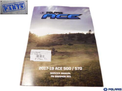 2017 2019 Polaris Ace 500 570 Genuine OEM Authentic Service Repair Manual
