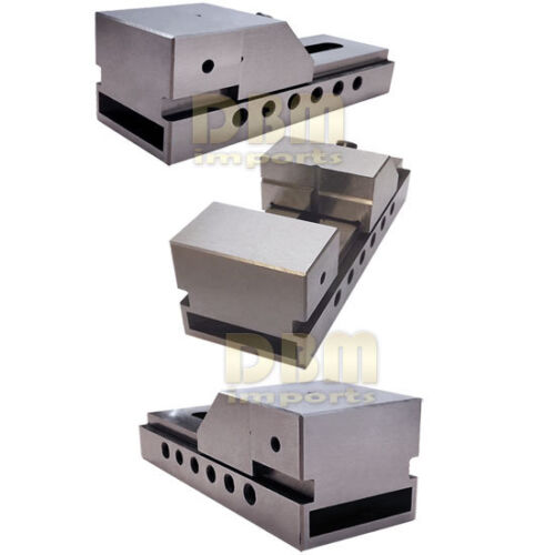 2/'/' Toolmaker Screwless Vise Grinding Ground Steel Precision Milling Bench Vice