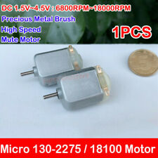 3V Mini Electric Motor 18000 RPM DIY Toy Hobby A2Z5 DC 1.5V