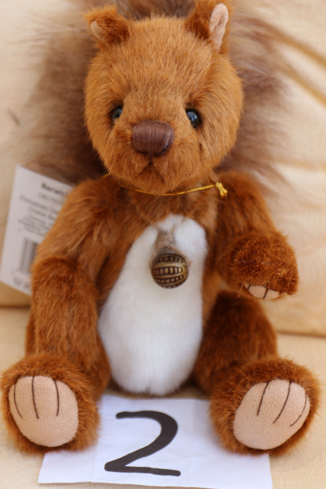 Charlie Bears - Berwick - NEU mit Etikett Etikett Etikett 2017 Sammlung 1f98ee